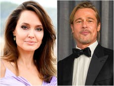 Angelina Jolie says she feared for family's safety during marriage to Brad Pitt