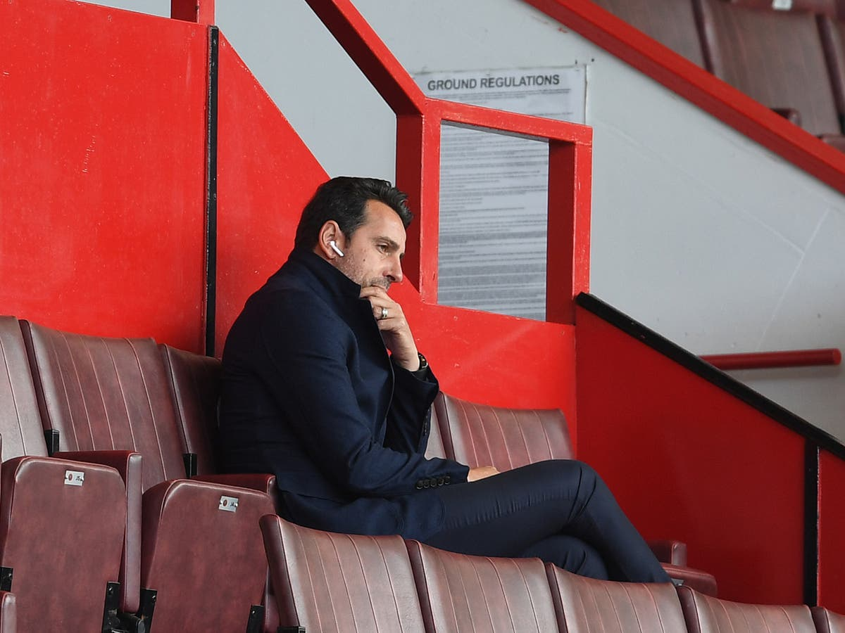 Edu defends Arsenal's transfer policy but accepts early form is 'unacceptable'