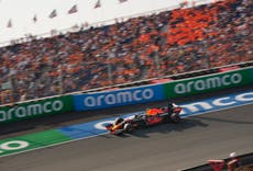 Max Verstappen excites home fans by dominating final practice before Dutch Grand Prix