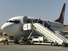 Flights with US citizens held up in Afghanistan as confusion reigns after withdrawal