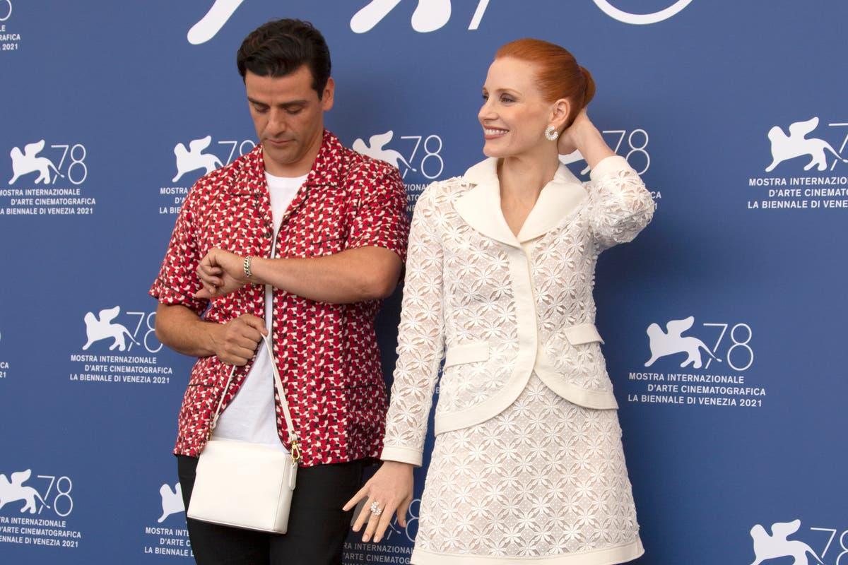 Jessica Chastain and real-life pal Oscar Isaac redo Bergman