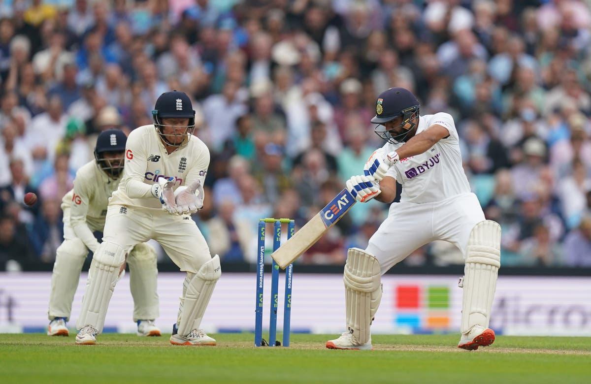 Rohit Sharma brilha com uma tonelada magnífica para deixar a Inglaterra perseguindo