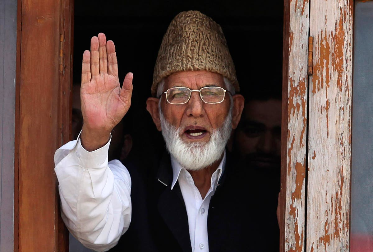 Kashmir leader's family charged under India anti-terror law