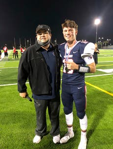 Miami teen's football game to honor dad who died from COVID