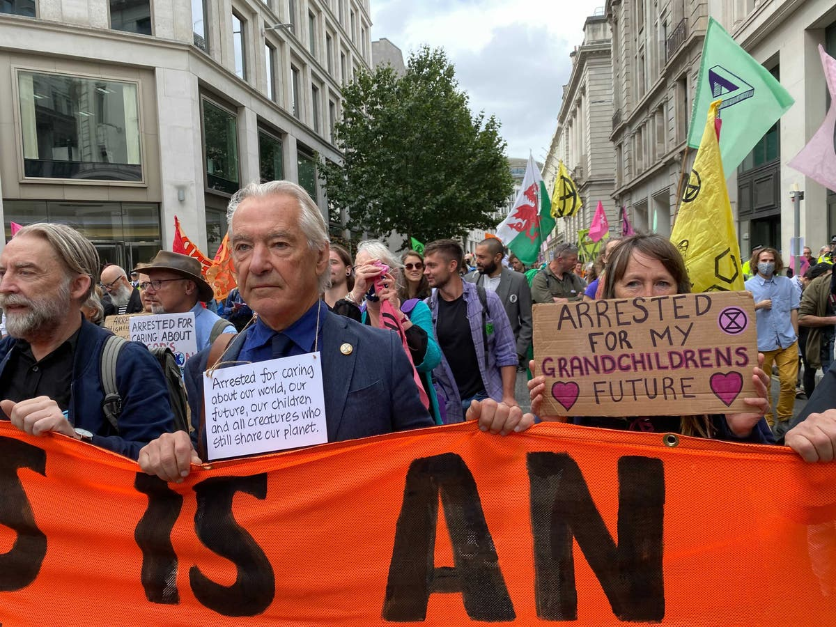 Meet the 'Grey Greens' joining Extinction Rebellion on the streets