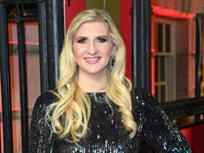 Rebecca Adlington ties the knot with Andy Parsons six months after welcoming son