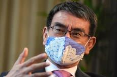Vaccine chief Kono popular favorite to become Japan's leader