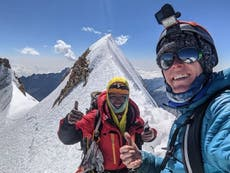 Body of US climber, 24, found on Bolivia's second-largest mountain