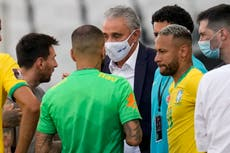 FIFA investigating Brazil-Argentina abandonment after coronavirus fiasco
