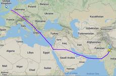 紛争地帯を回避するルートは、BAの飛行時間を4分の1増加させます