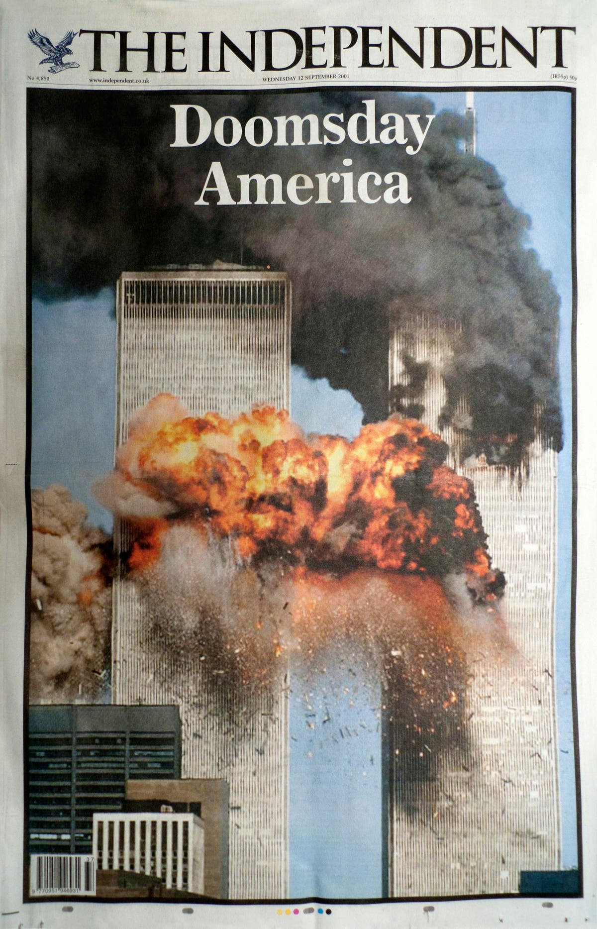 A look back at how The Independent covered 9/11's chilling aftermath