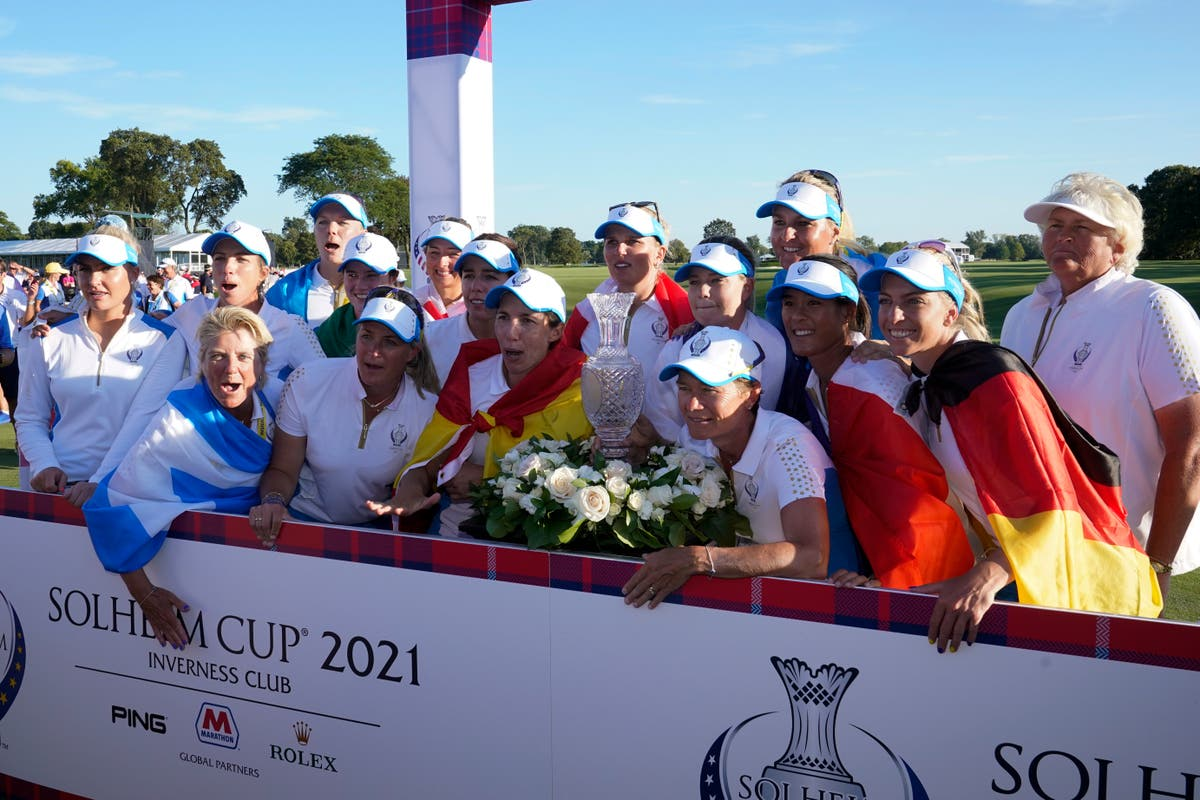 Leona Maguire plays starring role on debut as Europe win Solheim Cup on US soil