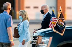 Jill Biden heads back to classroom as a working first lady