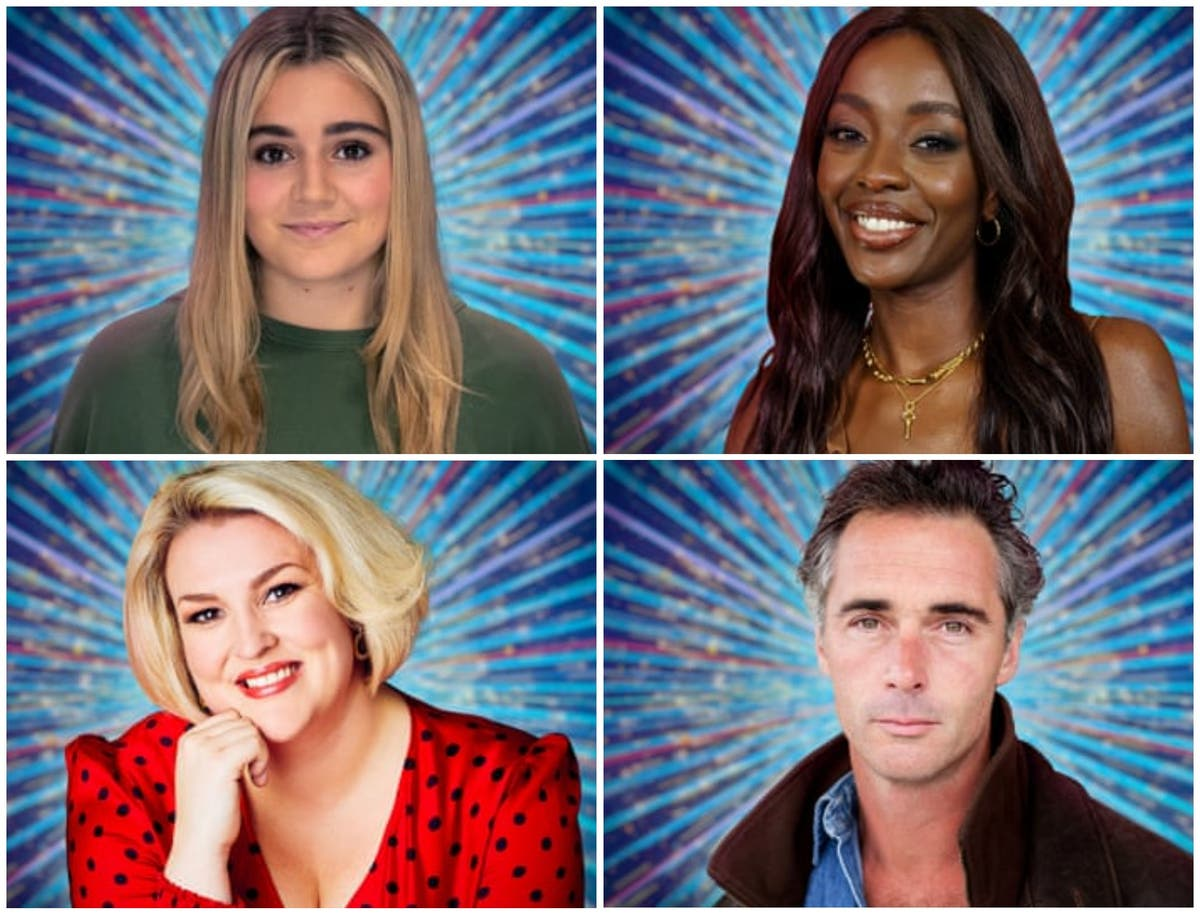 Meet the remaining contestants on Strictly Come Dancing