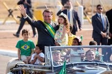 Brazil's Bolsonaro seeks show of strength, risking backfire