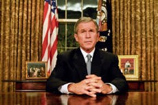 Two wars, Trump and the miraculous rehabilitation of George Bush