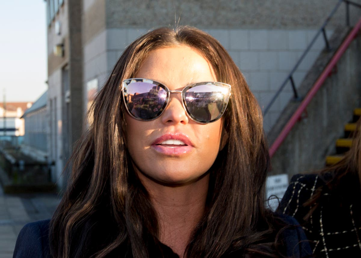 Katie Price's fiance says: 'I would never hit or hurt her'