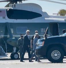 Biden tours neighbourhoods devastated by Storm Ida in New York and New Jersey