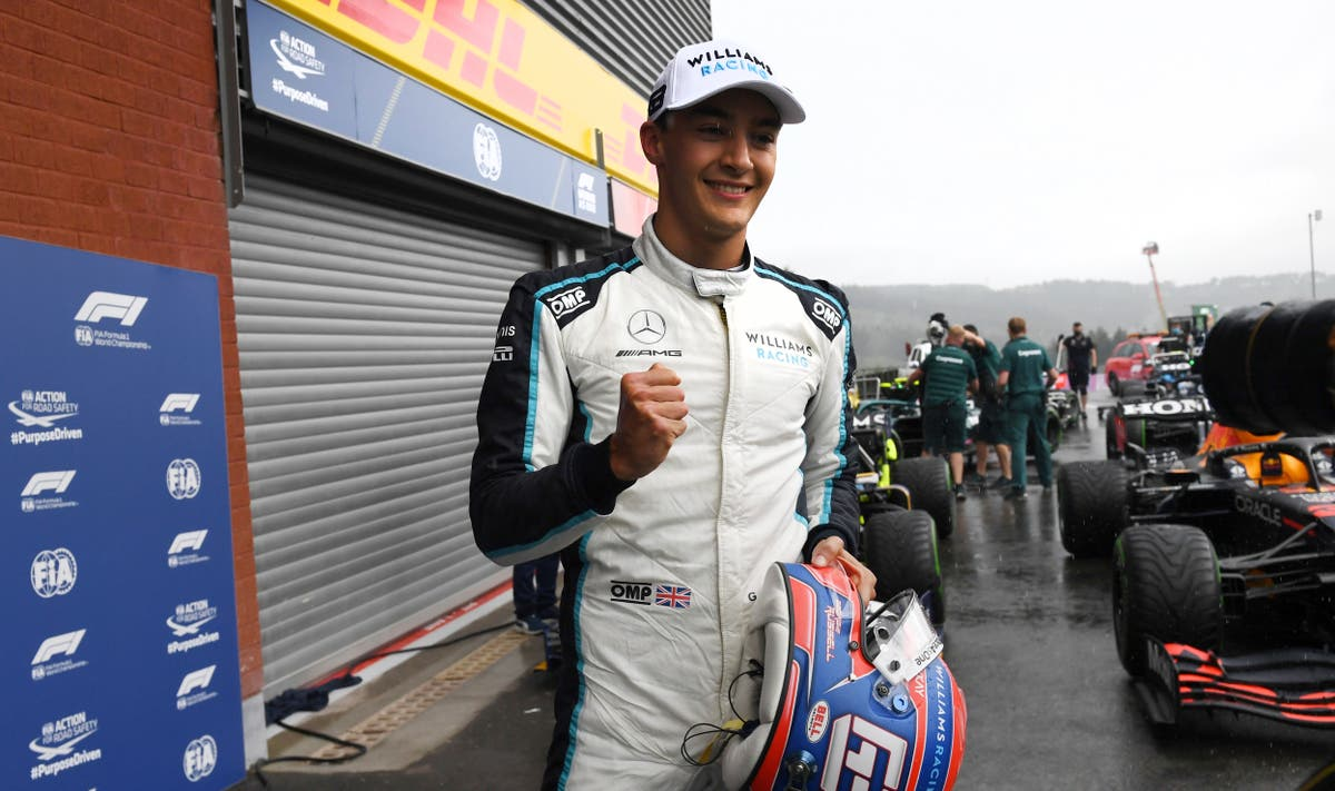 George Russell 'absolutely buzzing' about Mercedes contract after signing from 2022