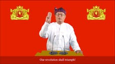 Myanmar's resistance movement declares 'war'  and nationwide uprising against junta