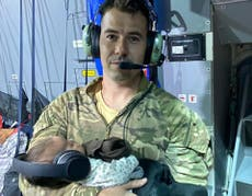 'People had their girls in their best party dresses': British airman relives emotional Afghan rescue flight