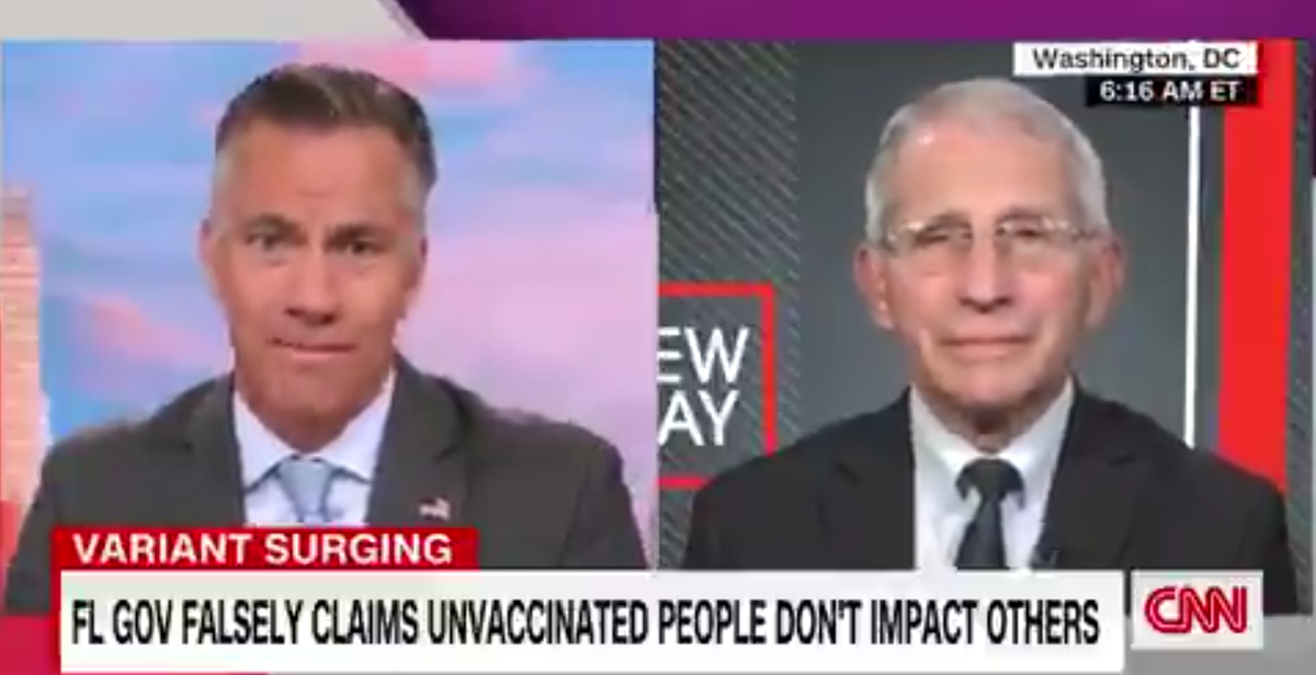 Fauci hits back at DeSantis claim that vaccinations don't 'impact me or anyone else'
