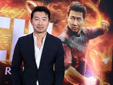 Shang-Chi star Simu Liu throws shade on stock photo company