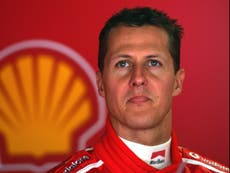 Michael Schumacher's wife reveals F1 legend is 'different but he's here' in rare health update