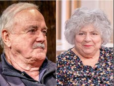 Miriam Margolyes claims John Cleese was 'vicious' to her when they were younger