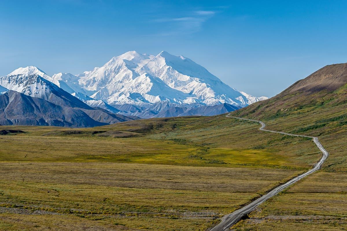 Permafrost melting causes landslide in Alaska's Denali National Park