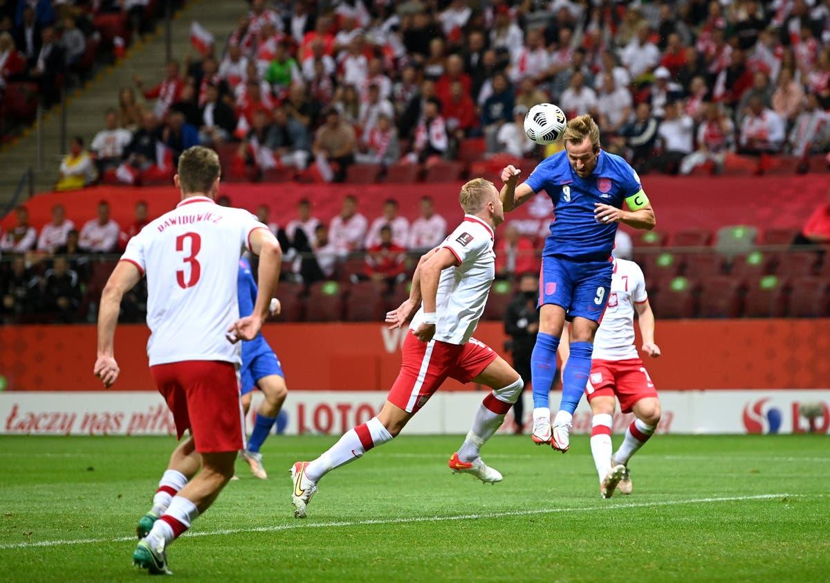 Harry Kane happy with England's progress despite Poland draw
