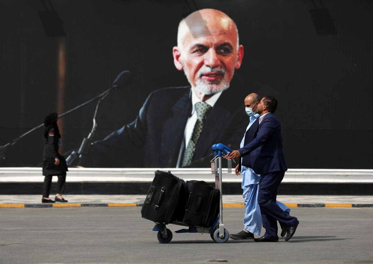 Ashraf Ghani apologises for fleeing Afghanistan, says it was to keep 'guns silent'