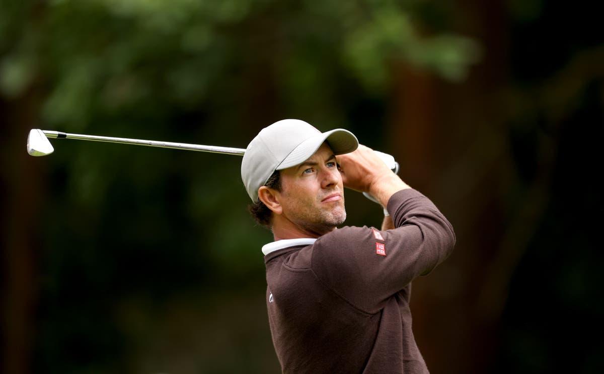 Adam Scott produces impressive first round on return to Wentworth