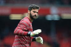 Liverpool goalkeeper Alisson eager to see Brazil Covid row resolved