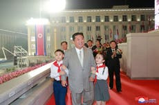 Kim Jong-un shows off 20kg weight loss and new haircut resembling his grandfather's