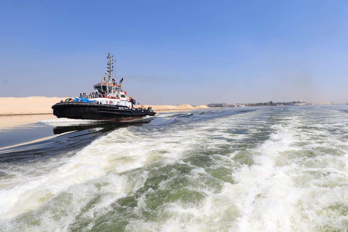 Suez Canal blocked again after ship runs aground