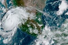 Hurricane Olaf bearing down on resort region in Mexico