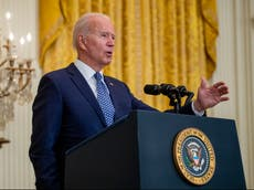 Biden to survey wildfire damage on West Coast tour