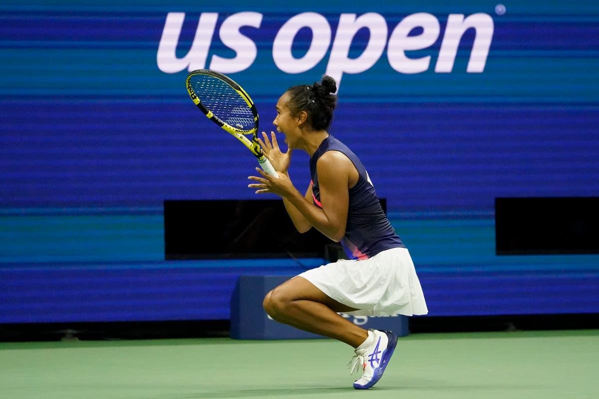 Leylah Fernandez poursuit sa course de rêve à l'US Open en atteignant la finale