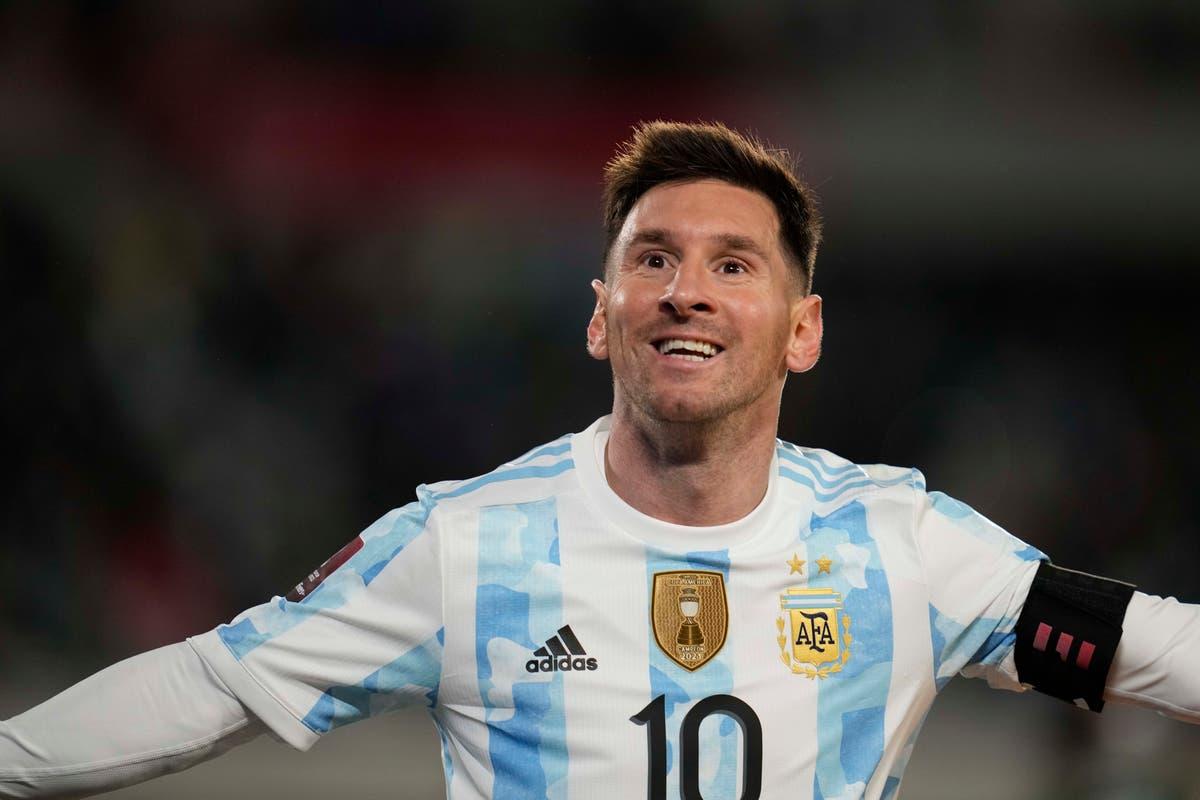 Lionel Messi breaks Pele's South American international goals record
