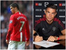 How has Cristiano Ronaldo changed since Manchester United exit in 2009?
