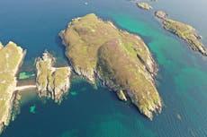 50,000ポンドで市場に出回っている「素晴らしい荒野」のある無人のスコットランドの島