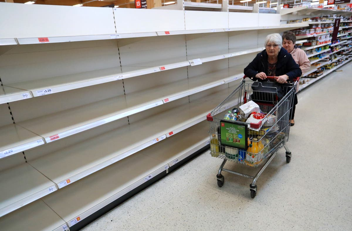 UK supermarket shortages will be permanent, trade body says