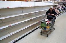 Food shortages 'permanent' and days of full choice of items over, Britons warned