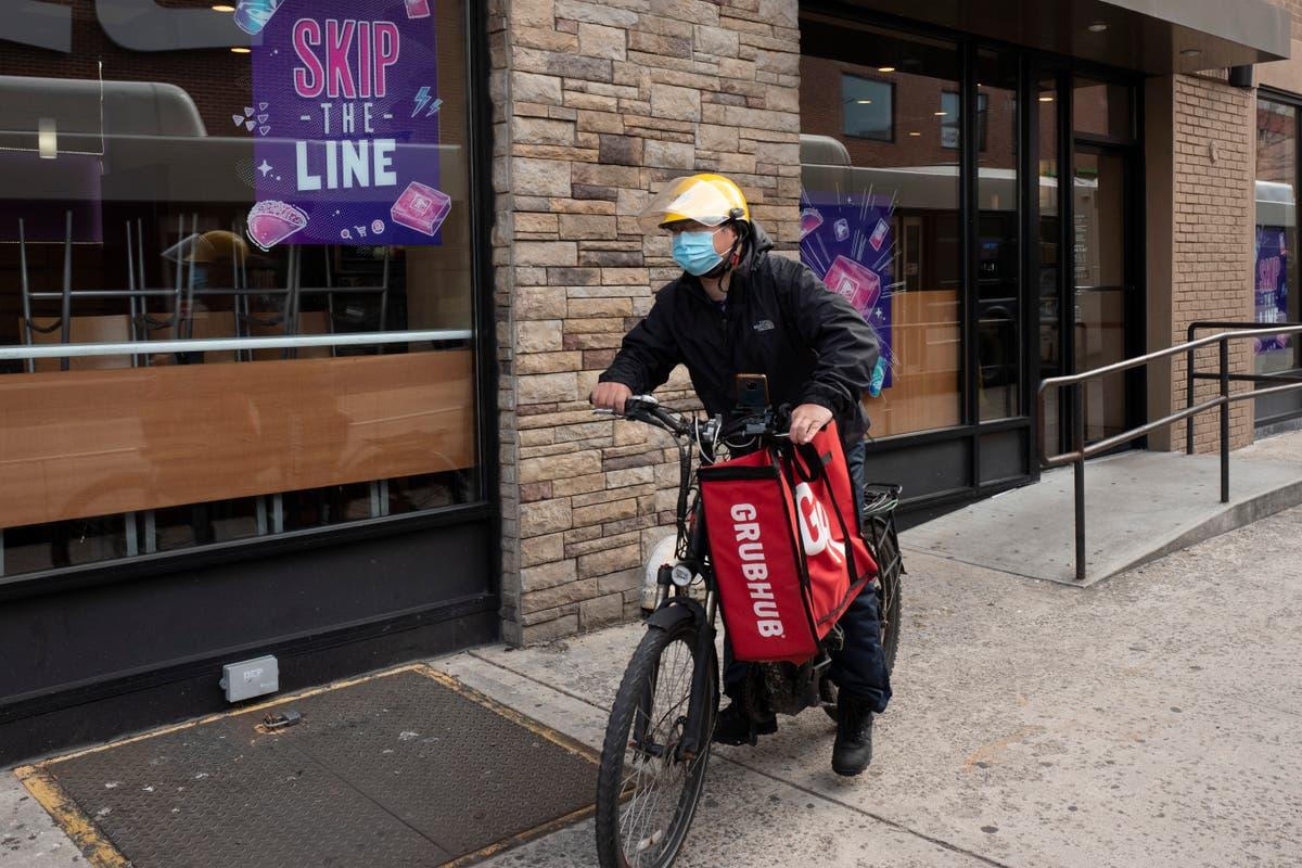Grubhub, Uber Eats and DoorDash suing New York City over fee limits