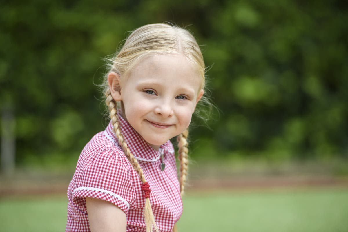 Premature child born size of bag of sugar defies odds to start primary school