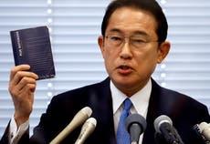 Fumio Kishida named as Japan's next PM
