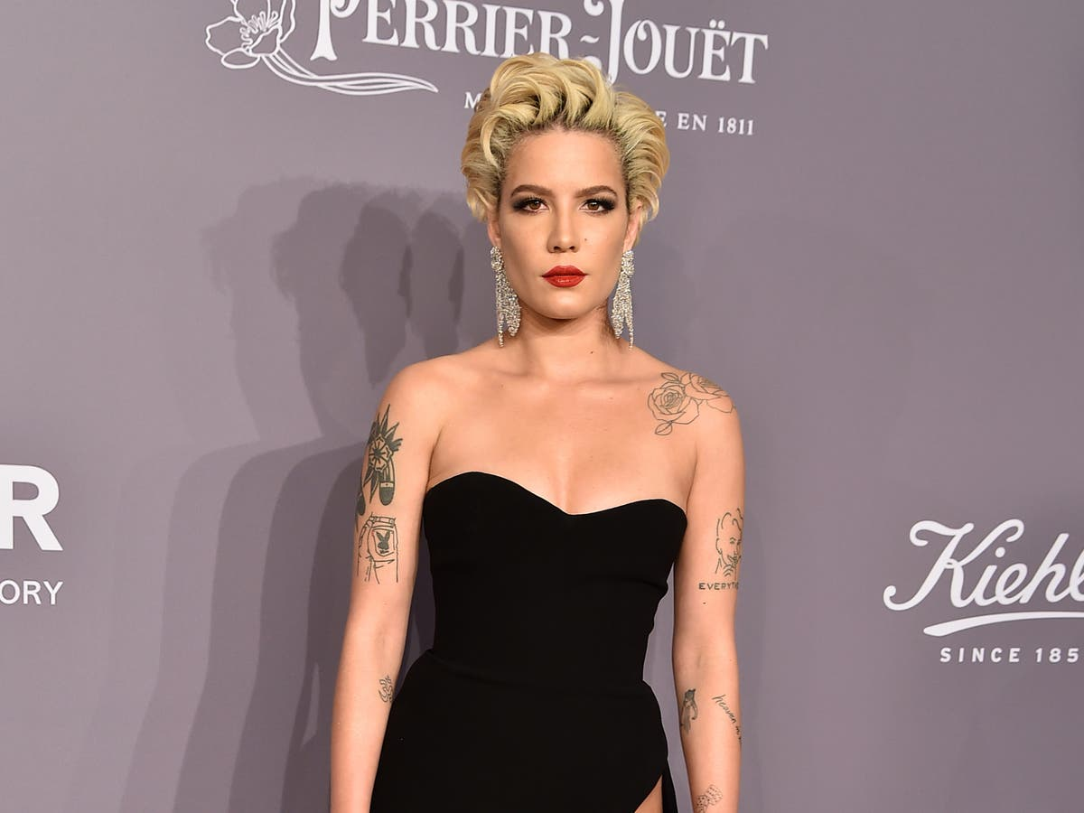 Halsey details 'struggle' with sense of style after pregnancy changed their body
