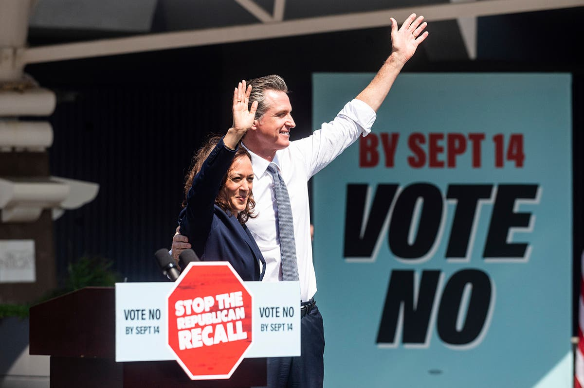 Newsom campaign theme: Don't let California become Texas