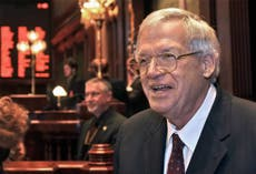 Timeline of events in Dennis Hastert's life and career